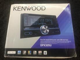 Kenwood DPX305U double din stereo