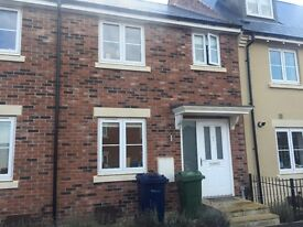 Three bedroom house to let bishops cleeve must see