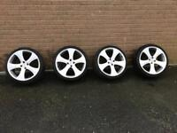 Mini wheels and tyres. 2001-2006 to fit cooper s / cooper / one