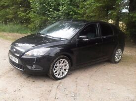 Black Focus 1.6 TDCi. Very reliable performer. Clean interior, outside average/age - 12 MONTH MOT