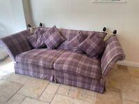 Laura Ashley wool knole sofa 3 seater