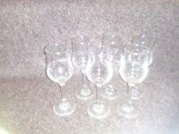 Sherry glasses