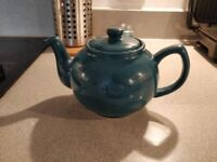 Teal blue medium sized Price & Kensington teapot - practically brand new!