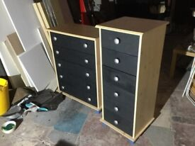 Chest of drawers set