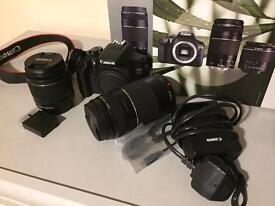 Canon EOS 1300D 18.0 MP DSLR Camera.