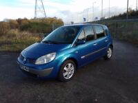 Renault scenic 2005 1.6 petrol Dynamique 1 owner with low miles 54k