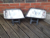 vw t5 transporter pair headlights good condition