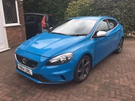 Volvo V 40 R-Design, Half Leather