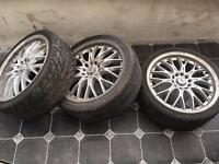 "17"" bk racing Volvo/ford alloys"