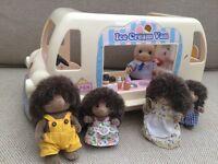 Sylvanian families ice cream van. Wigan