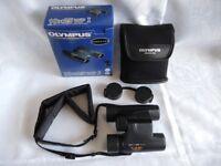 Olympus 10x25 WP1 Waterproof Compact Binoculars-Case,Boxed.