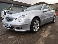 2007 07 MERCEDES C180K SPORT COUPE AUTOMATIC