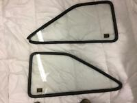 Ford Mk2 Escort Rear Quarter Windows