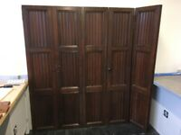 Wood panelled timber doors - reclaimed / architectural for wardrobe, cupboard, built in etc