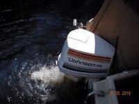 Johnson V4 85hp outboard engine. £950 ono.