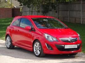 Vauxhall Corsa SRi 3dr (red) 2014