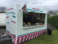 Ice Cream Kiosk for hire
