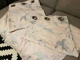 Curtains perfect condition dunelm