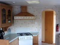 Static caravan for sale in Mid Wales
