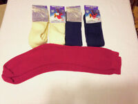 5 Pairs NEW Wool & Nylon Ski Socks Size 4-11 UK, 37-46 EU