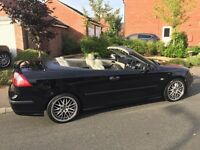Saab Aero 2004 Convertable New wheels Tyres two tone leather full service history