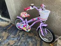 """Girls bike 10"""" wheels"""