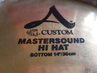 "Zildjian Custom A Mastersound 14"" HI-HAT cymbals"