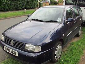 2001 VW Polo Estate 1.9TDI Low mileage 84k