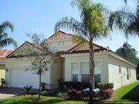 Florida, LUXURY 5 bed 4 bath Villa, PRIVATE SOUTH facing pool, Superb location Disney & Attractions