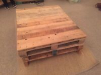 Pallet coffee table- collection asap