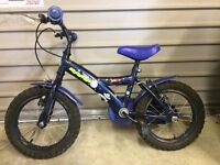 "14"" Apollo Moonman Bike- Always stored indoors. Excellent Condition. Comes with stabilisers"