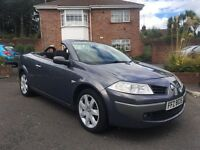 2008 RENAULT MEGANE CONVERTIBLE 1.6 AUTOMATIC ALL MAJOR CARDS ACCEPTED