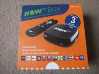( New and Sealed ) NOW TV Box with 3 Month Entertainment Pass £20 ONO