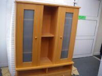 TALL WALL CABINET - NEW LOWER PRICE
