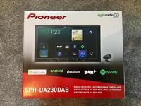New in box Pioneer car radio DAB with Apple Carplay