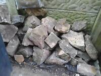 Rockery stones £30 buyer to collect ASAP