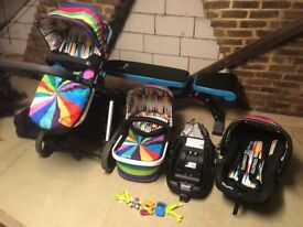 Cossatto pram Giggle travel system