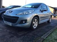 2010 peugeot 207 1.4... 2lady owners... only 79Kmiles...spacious...LONG MOT
