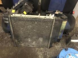 Bmw e36 6 cylinder radiator 320 323 325 328