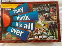 They Think It's All Over Board Game
