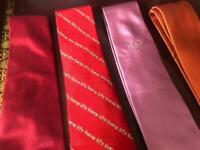 Collection of 4x Ozwald Boateng Bespoke Couture dress ties