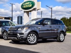 2016 Land Rover Range Rover Sport DIESEL VERY LOW KM's