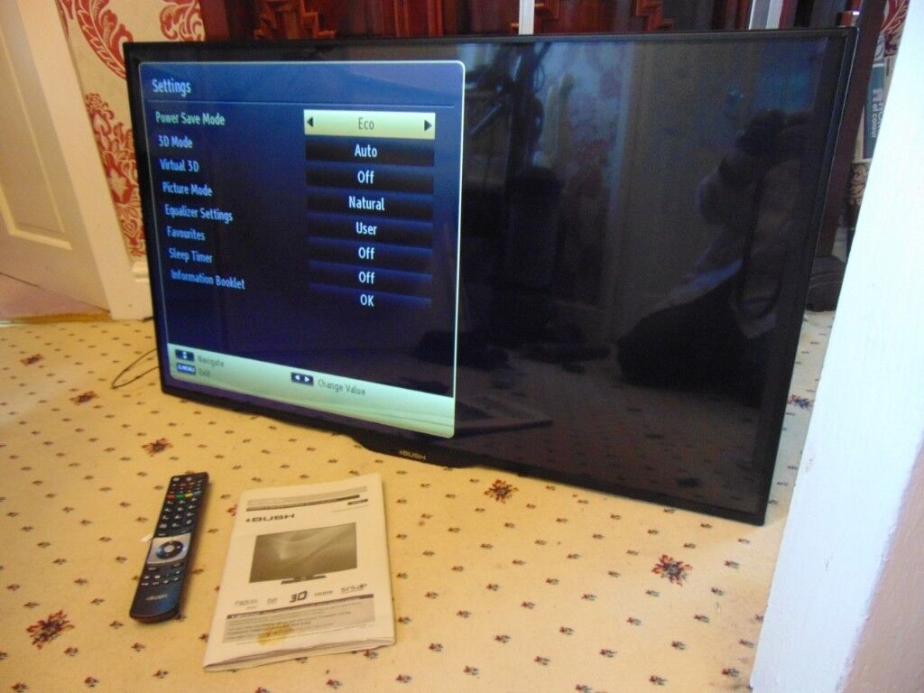 bush led tv 42 inch smart? extras wall mounting collect aberbargoed