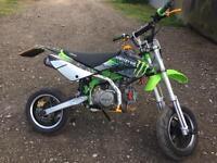 Stomp road legal pit bike 12 months mot