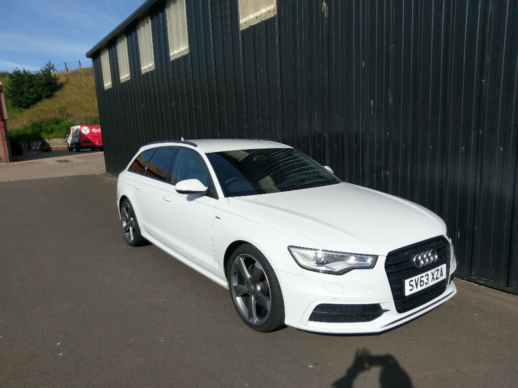 2013 63 plate audi a6 avant s line black edition 2 0l tdi in glacier white in aberdeen gumtree. Black Bedroom Furniture Sets. Home Design Ideas