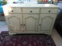 DINING ROOM SIDEBOARD / WOODEN / LOVELY DESIGN / STRONG / EASILY MOVEABLE