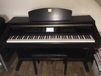 Digital piano,Yamaha Clavinova CVP 203 with stool in perfect conditionDigital