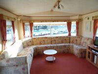 SPACIOUS COMFORTABLE 2 BEDROOM (6 BERTH) CARAVAN FOR HIRE AT SUNDRUM CASTLE HOLIDAY PARK, AYRSHIRE
