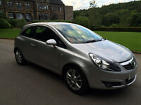 Vauxhall Corsa 1.2 SXi 3dr 2008 Low Miles- Free 6 Months Warranty Given
