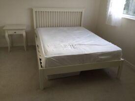 Debenhams soft white 'Burlington' double bed